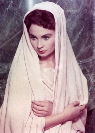 Jean Simmons Spartacus 1960.  Classic Hollywood Stars.