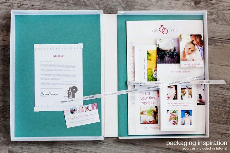 welcome packet: Brochures, Branding Design, Idea, Branding Inspiration, Templates, Wedding, Welcome Packets, Bride, Design Aglow