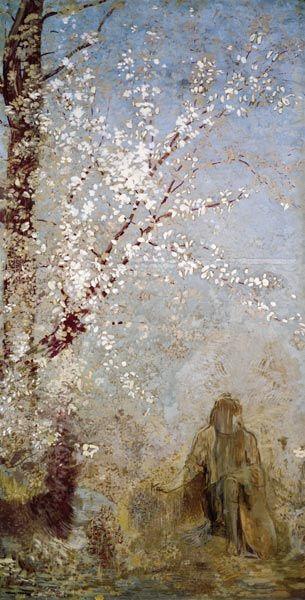 Odilon Redon - Tree into Flower