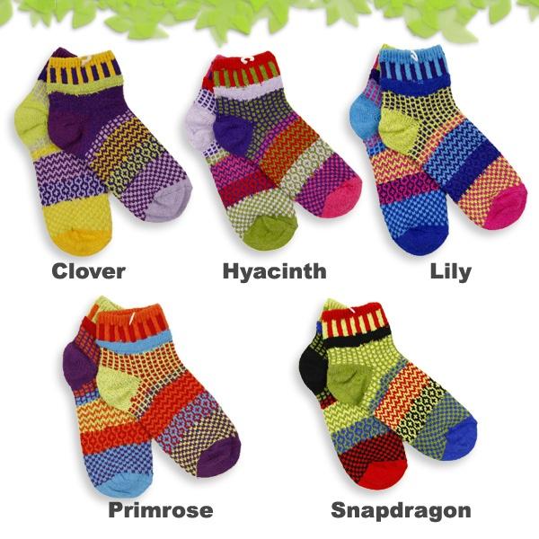 Solmate Socks Ankle Socks ソルメイトソックス マルチカラーアンクルソックス