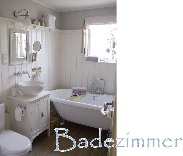 Die besten 25 landhaus stil badezimmer ideen auf pinterest rustikale b der halbes badezimmer - Badezimmer landhausstil ...