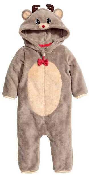 dc1fa7deae81 H M Reindeer Jumpsuit