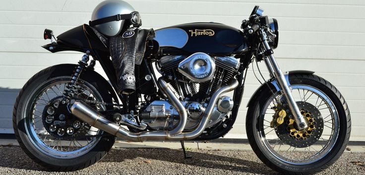 Norton Commander with HD sportster engine.