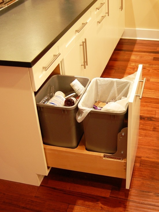 Swap Out Trash Compactor For This  Garbage U0026 Recycling In The Same Space!