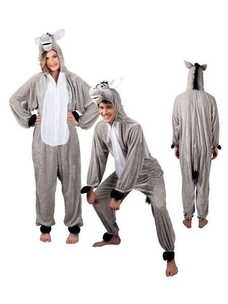 "https://11ter11ter.de/59020386.html Plüschkostüm ""Esel"" für Erwachsene #Karneval #Fasching #Mottoparty #11ter11ter #Outfit #Kostüm #Partnerkostüm #Twins #Plüsch #Esel"