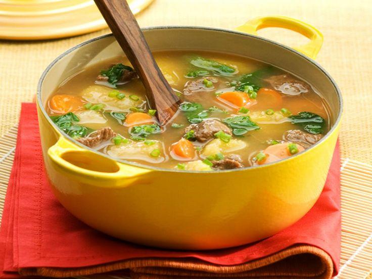 sopa completa de mandioca | Receitas Brasileiras e Portuguesas