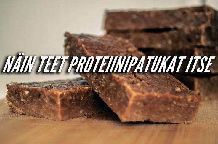 Näin teet proteiinipatukat itse!