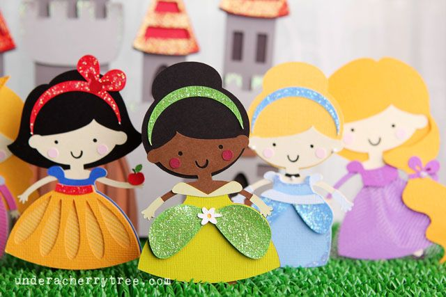Perfect for a Princess Party!  Under A Cherry Tree: Happily Ever After and Once Upon a Time