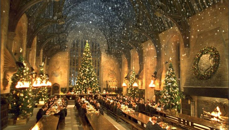 Harry Potter Fans Were Invited To Celebrate Harry Potter Fans Were Invited To Celebrate Harry Potter Weihnachten Hogwarts Weihnachten Hogwarts Grosse Halle