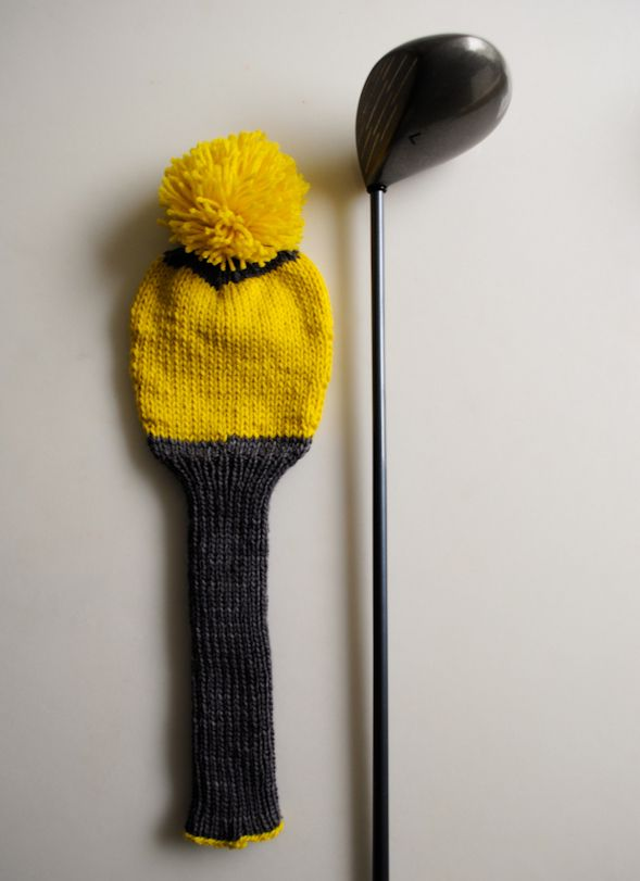 Laura's Loop: Knit Golf Club Covers - The Purl Bee - Knitting Crochet  Sewing Embroidery