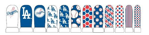Paper Magic Los Angeles Dodgers Nail Stickers, Blue/White, One Size Paper Magic http://www.amazon.com/dp/B007VXMJ2Q/ref=cm_sw_r_pi_dp_DpFsub1WYVZY9