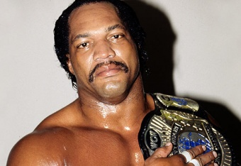 Ron Simmons - AKA Farrooq. First African-American to win the WCW Championship