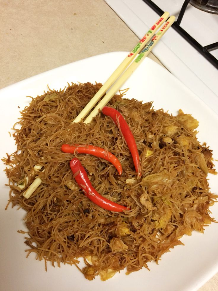 Fried Rice Noodle Indonesian Style