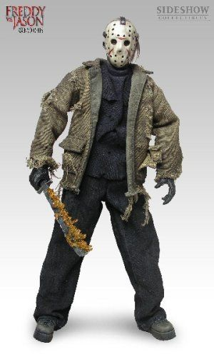 Sideshow Collectibles Freddy VS. Jason 12 Inch Action Figure Jason