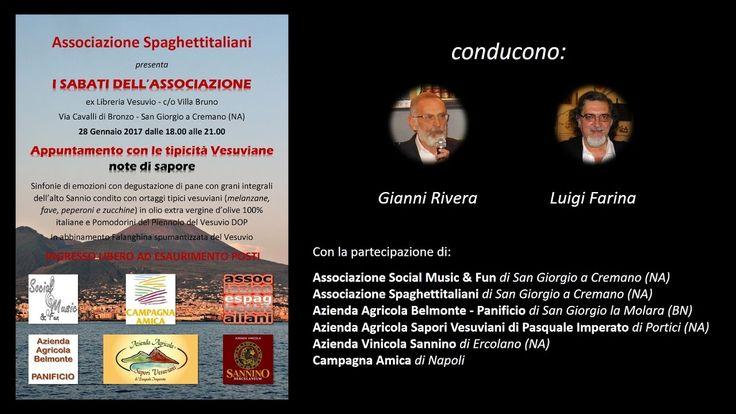 28 Gennaio 2017 - ex-Libreria Vesuvio - Villa Bruno - San Giorgio a Cremano (NA) - Appuntamento con le tipicità Vesuviane: note di sapore