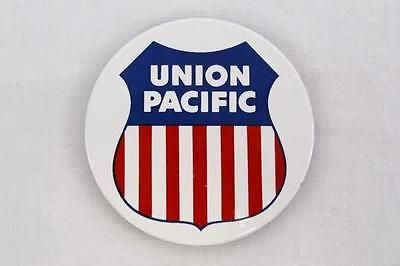 Union Pacific Logo Red White Blue Magnet from Walt Disney Co.