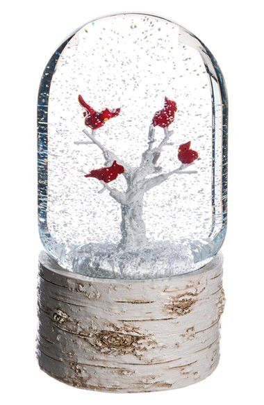Cardinal Musical Snow Globe                                                                                                                                                                                 More