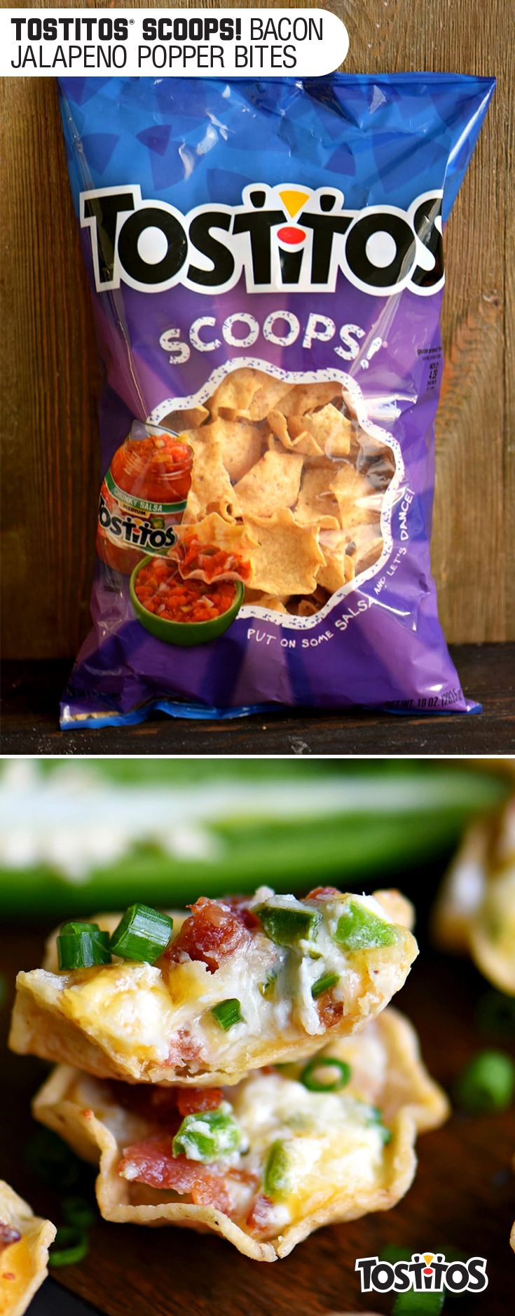 Sponsored by Frito-Lay l When you really want a party, bring cream cheese together with fresh jalapeños, green onions, bacon, and Tostitos®. Jalapeno Poppers. Boom. Spending time with friends just got a whole easier #mingleinabox