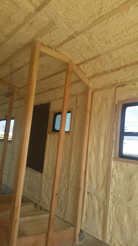 Foam house insulation diy