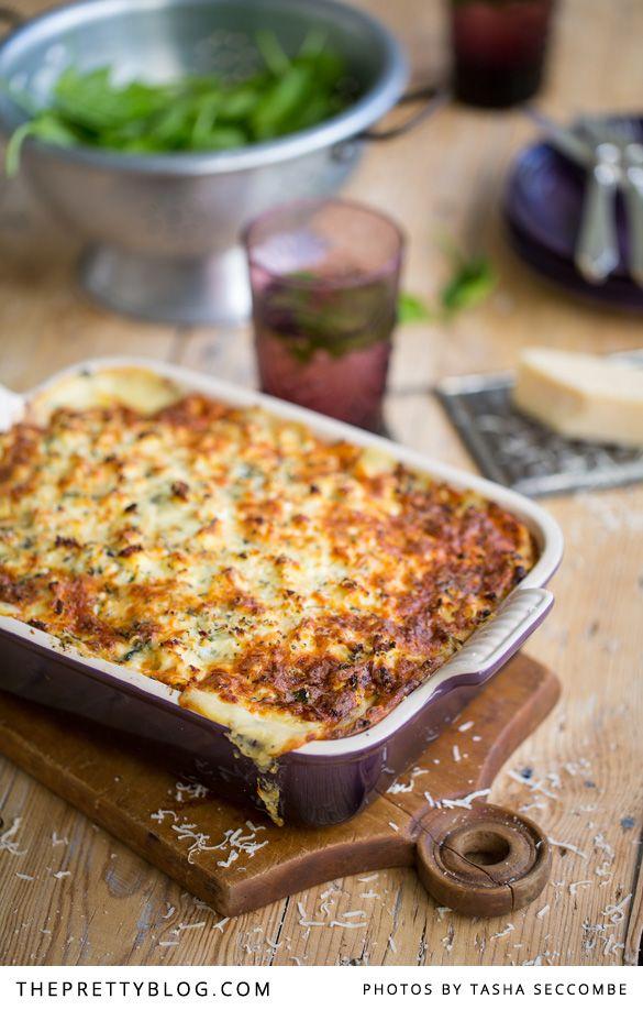 Tasty Stellenbosch recipe for vegetable lasagne - yum!