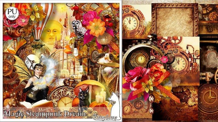 kit Magic steampunk Dream by kittyscrap
