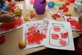 Výsledek obrázku pro výtvarka pro malé děti podzim