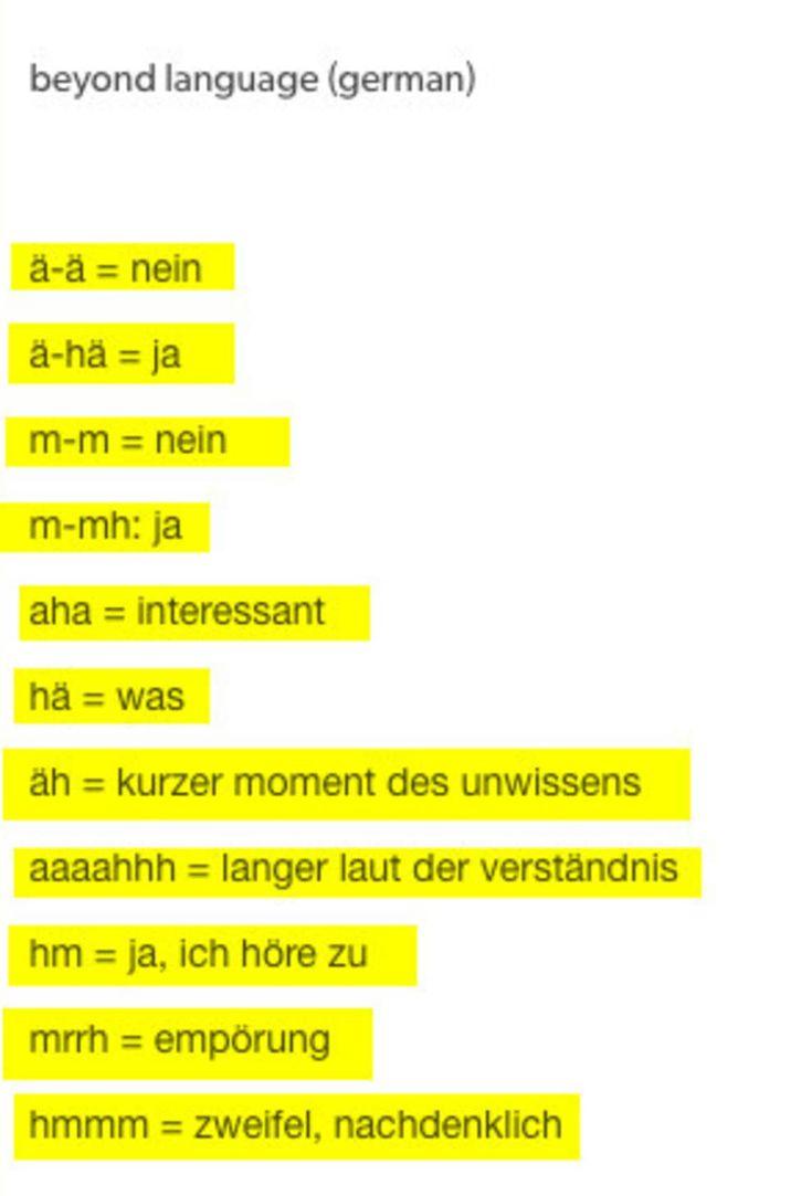18 Beweise, dass deutsche Sprache, schwere Sprache   – Deutsch