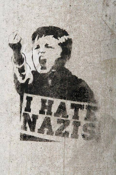 I hate Nazis antifa
