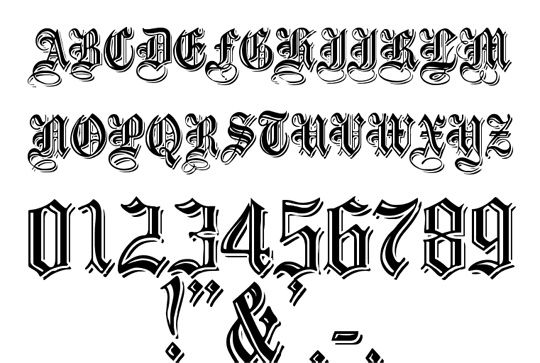 old english font | fonts | Pinterest | Retro style, Style ...