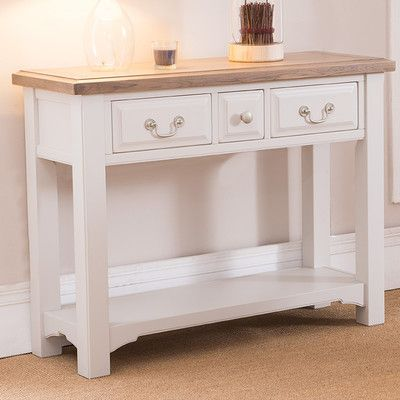 Hallowood Furniture Devon Console Table