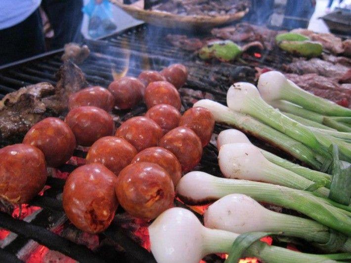Chorizo de #Oaxaca... love it! Comida de mercados vía http://escuelaculinaria.mx