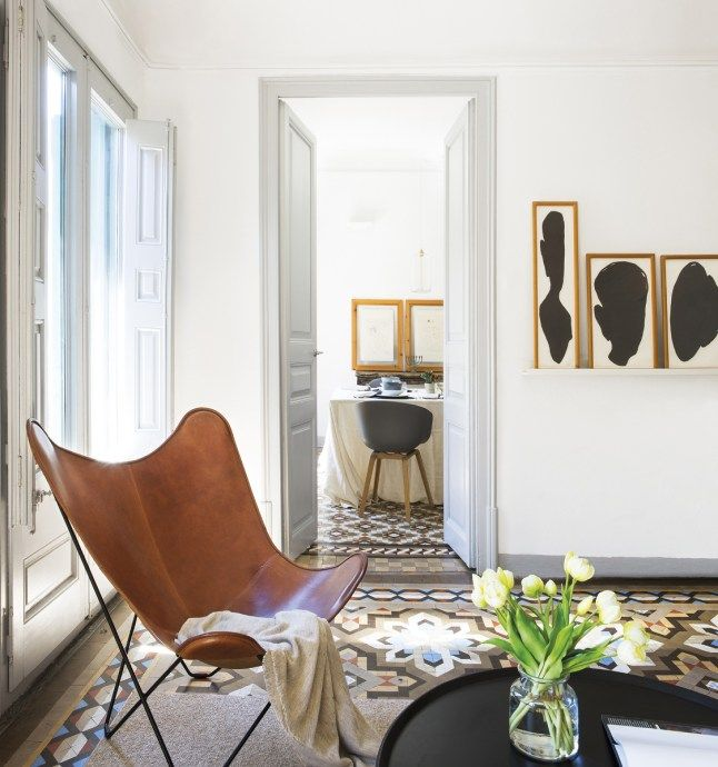Chambre En Espagnol: Un Appartement Espagnol Aux Sols Originaux (PLANETE DECO A