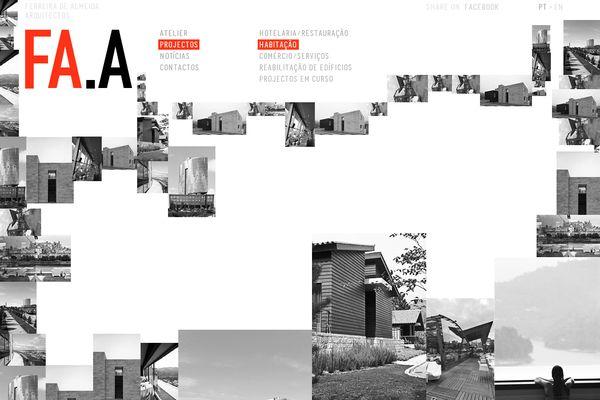 Ferreira de Almeida Arquitectos Website