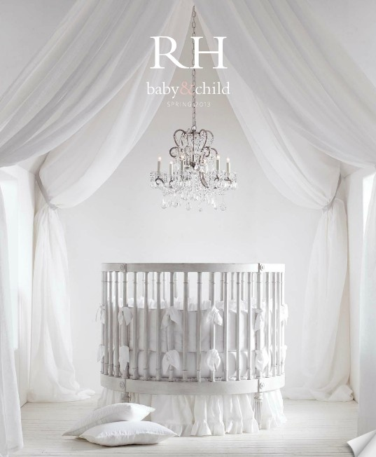 Chandelier Baby Room: Beautiful Crib Models With 18 Photos,Lighting