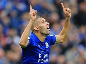 Result: Islam Slimani powers Leicester City past Sheffield United