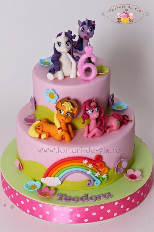 Torturi - Viorica's cakes: Little Pony pentru Teodora