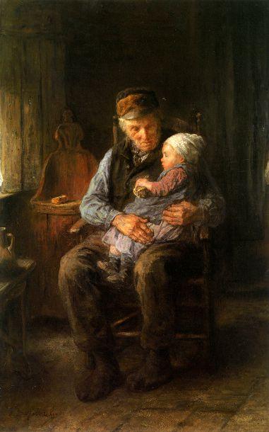 Jozef Israels (1824 – 1911, Dutch)
