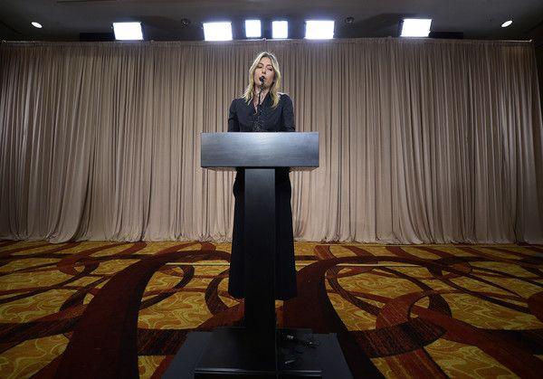 Maria Sharapova Photos - Maria Sharapova News Conference - Zimbio