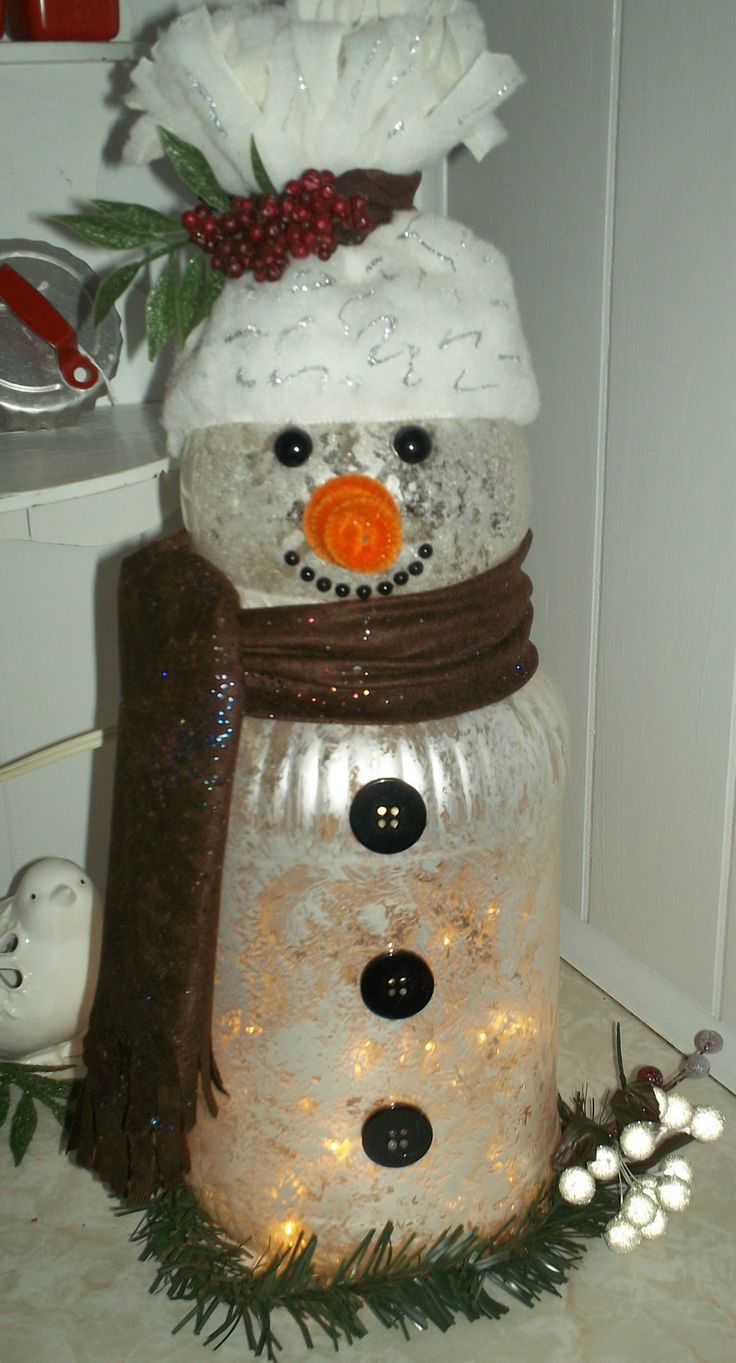 Pin by theresa rector prenger on rose bowl ideas pinterest for Plastic snowman