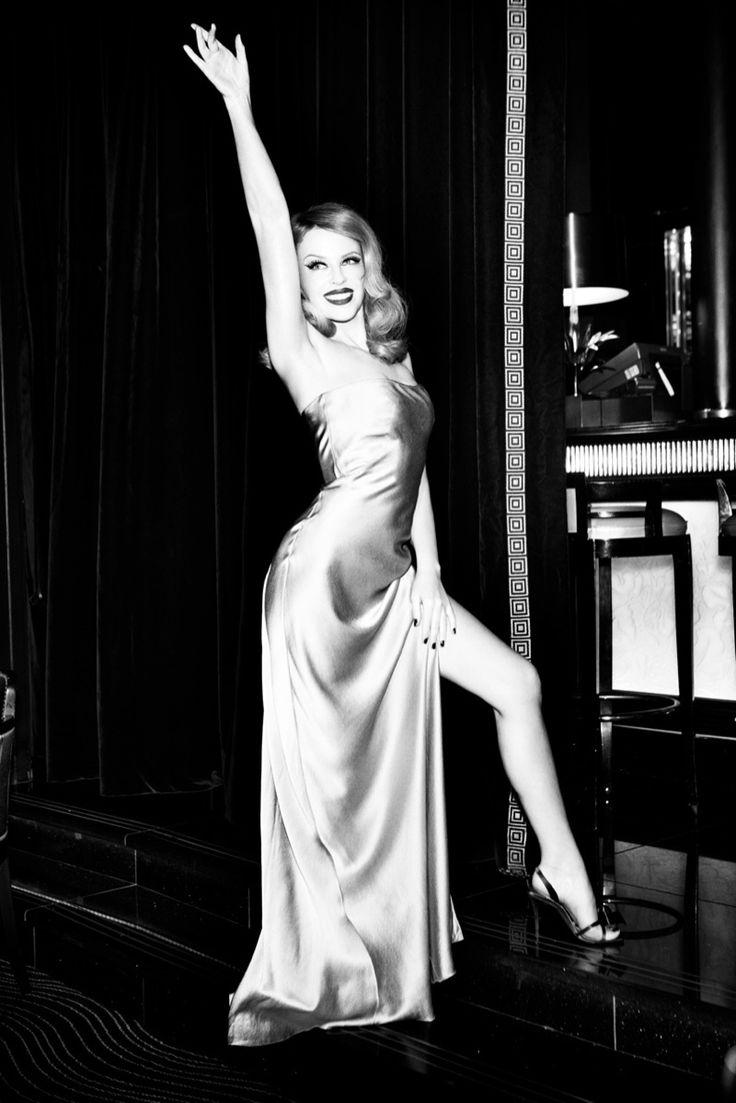 Kylie Minogue Charms for Ellen von Unwerth in GQ Shoot. #Kylie #Minogue #music #singer