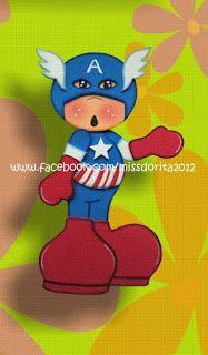 Miss Dorita: Capitán América