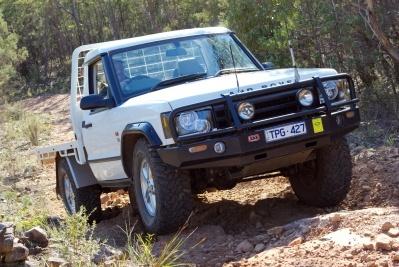 OZ Land Rover Discovery II Truck - Custom built  Source: 4wdhandbook.com