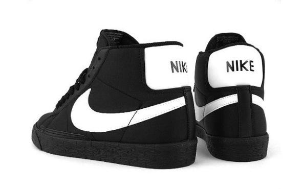 Nike Blazer Hi Nylon – Black / White