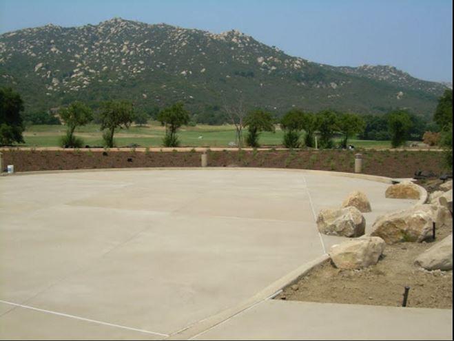 Stamped Concrete Patio Ideas With Pergola