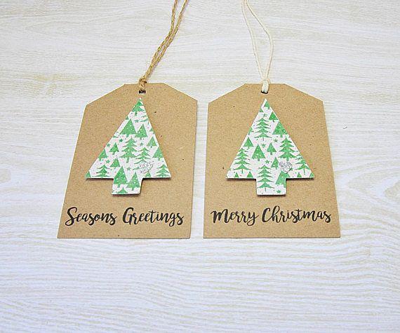 Christmas Trees Gift Tags Merry Christmas Gift Tags Seasons