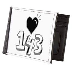 143 means I Love You Mens Wallet> 143 means I Love You> Victory Ink Tshirts and Gifts