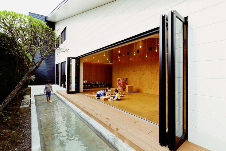 Architecture for Children: HIBINOSEKKEI + Youji no Shiro on Contemporary Kindergartens - Architizer
