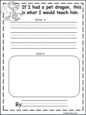 This is a Pet Dragon writing activity available FREE on Madebyteachers.com. Great for February and Chinese New Year.