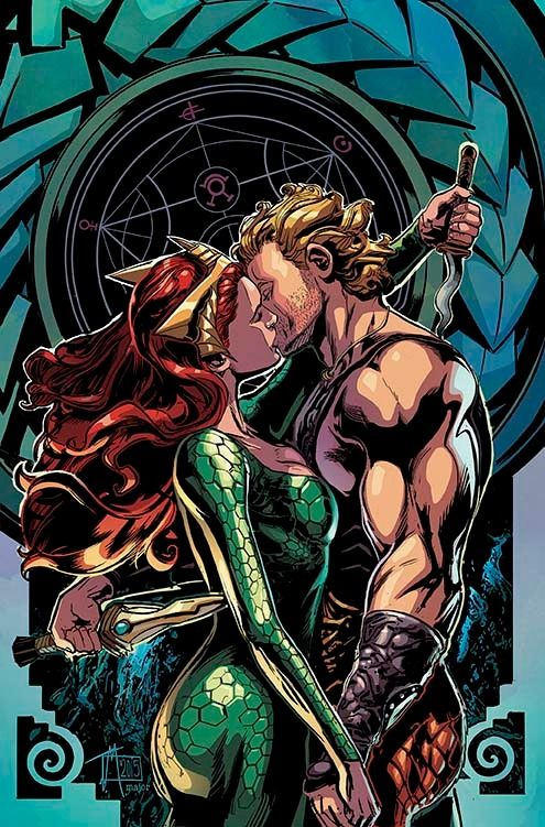AQUAMAN #42 Written by CULLEN BUNN Art and cover by TREVOR McCARTHY