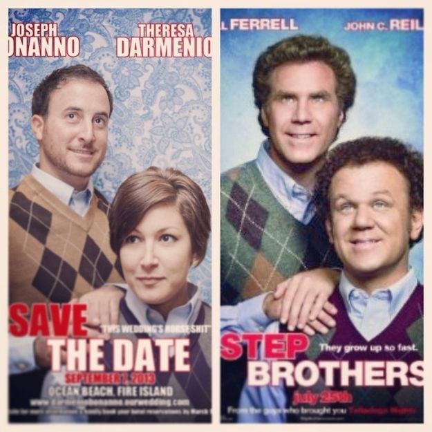 The Movie Parody | 36 Cute And Clever Ways To Save The Date